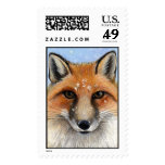 Fox in the Snow II Postage