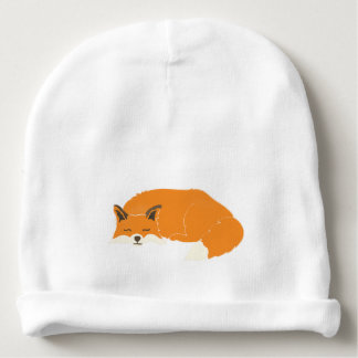 Fox infant hat