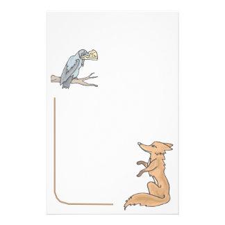 Fox inmóvil animal de los amantes del mascota inmó  papeleria de diseño