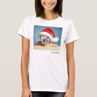 Fox Is A Baby In A Santa Hat #1 T-Shirt