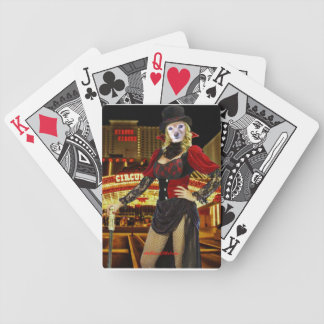 Fox Is A Circus Performer Bicycle Playing Cards