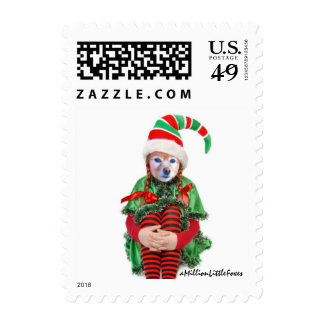 Fox Is A Girl Elf #2 Postage