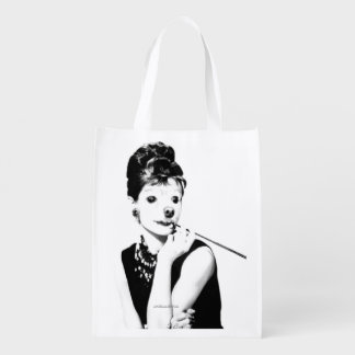 Fox Is A Movie Star Reusable Grocery Bags