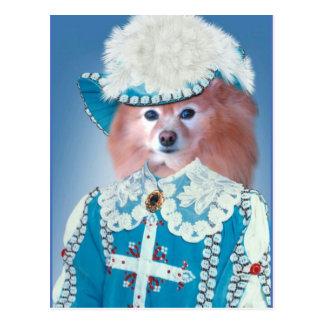 Fox Is A Musketeer Postcard