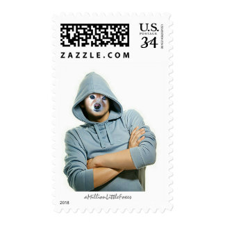 Fox Is A Rapper Postage Stamps