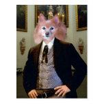 Fox Is A Southern Gentleman Postcard