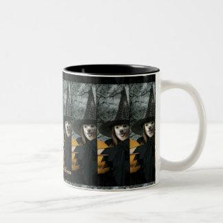 Fox Is A Witch #3 Two-Tone Coffee Mug