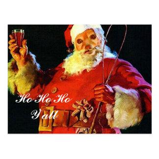Fox Is Another Santa, Ho Ho Ho Postcard