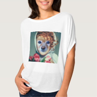 Fox Is The Lady In A Scarf T-shirt