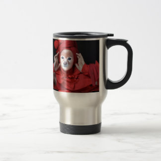 Fox Is The Lady In Red Travel Mug