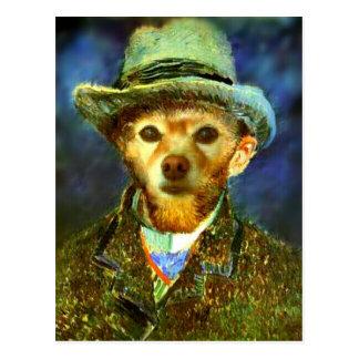 Fox Is Van Gogh Postcard