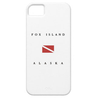 Fox Island Alaska Scuba Dive Flag iPhone 5 Covers