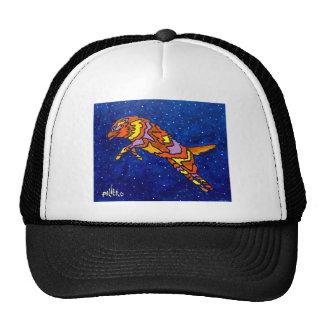 Fox Jumping by Piliero Trucker Hat
