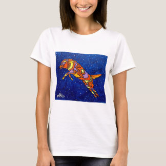 Fox Jumping by Piliero T-Shirt