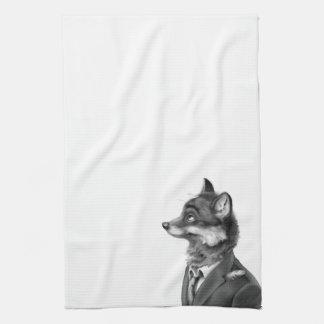 Fox Kitchen Towel (Profile)