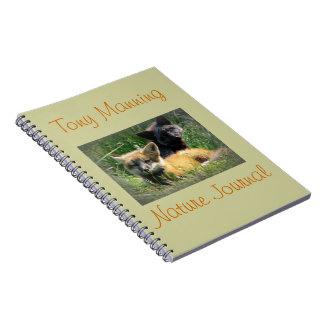 Fox Kits Nature Journal you customize