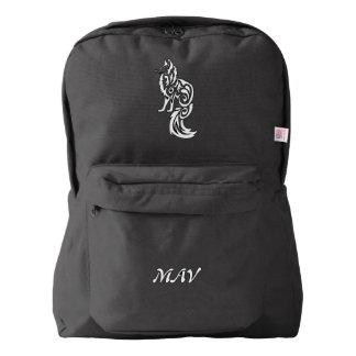 Fox Kitsune Tribal Backpack