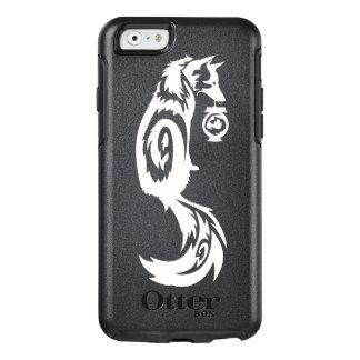 Fox Kitsune tribal con la linterna del alcohol Funda Otterbox Para iPhone 6/6s