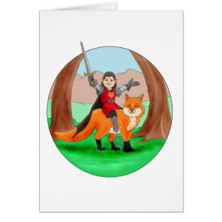 Fox Knight of Mythdale Forest Cards