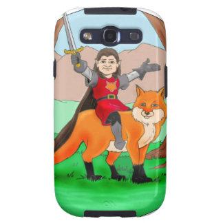 Fox Knight of Mythdale Forest Samsung Galaxy SIII Cases