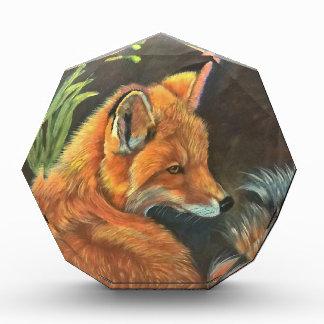 fox landscape paint painting hand art nature award