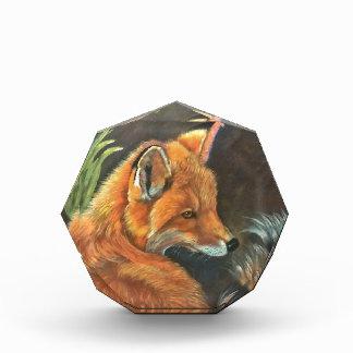 fox landscape paint painting hand art nature acrylic award