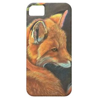 fox landscape paint painting hand art nature iPhone SE/5/5s case