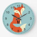Fox Large Clock (<em>$31.65</em>)