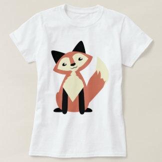 Fox lindo de la Cabeza-inclinación Playera