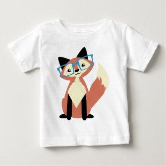 Fox lindo de los vidrios del inconformista camisas
