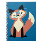 Fox lindo de los vidrios del inconformista cuadernos