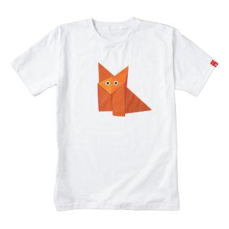 Fox lindo de Origami Playera Zazzle HEART