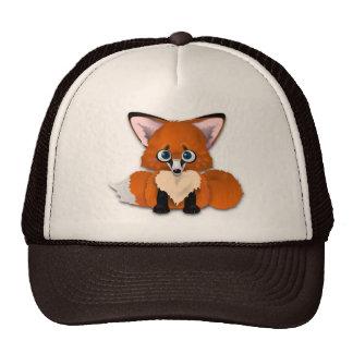 Fox lindo del bebé gorra