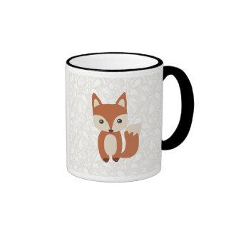 Fox lindo del bebé taza