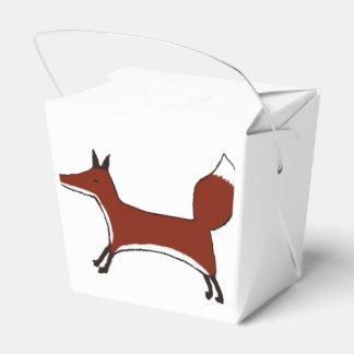 Fox lindo - Kawaii Kitsune - caja para llevar del