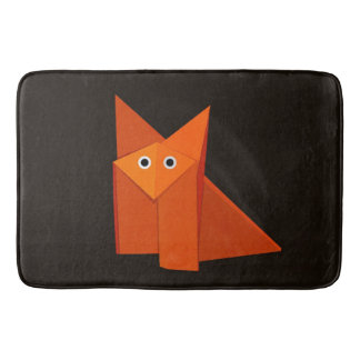 Fox lindo oscuro de Origami