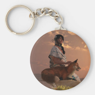 Fox Maiden Keychain