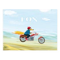 Fox-Man Postcard