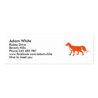 Fox Mini Business Card