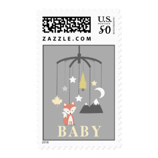 Fox Mobile Neutral Baby Postage