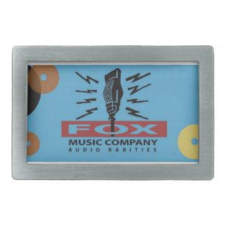 Fox Music Audio Rarities Belt Buckle