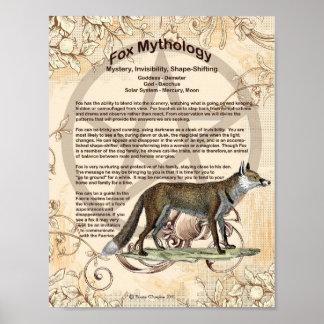 FOX MYTHOLOGY POSTER