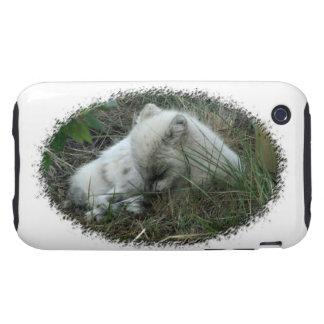 Fox Naptime iPhone 3 Tough Case