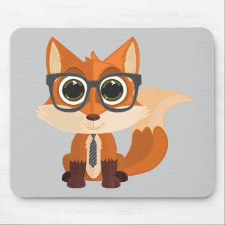 Fox Nerd Mouse Pad