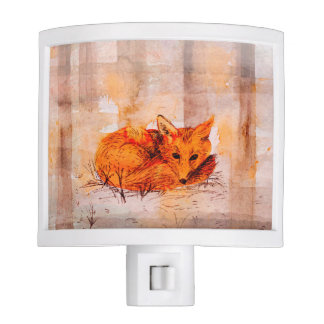 fox night light
