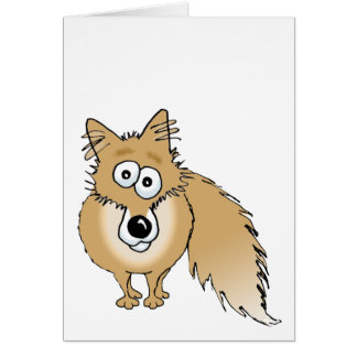 fox no words card