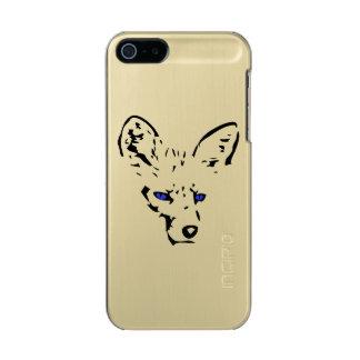 Fox observado azul carcasa de iphone 5 incipio feather shine