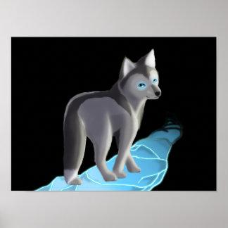 Fox of ice poster