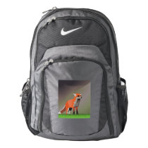 Fox on meadow nike backpack