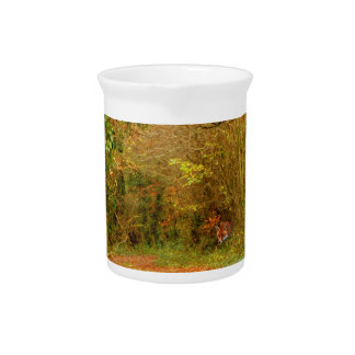 Fox on the Golden Path Poster ~ Fantasy Drink Pitchers
